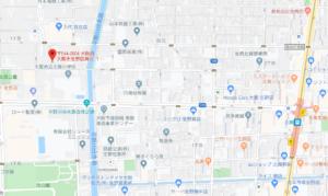 ケイパック大阪本社(地図)