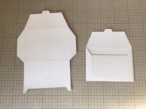 封筒形パッケージ