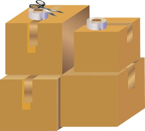 通販用配送箱(外箱)の形状も色々あります。
