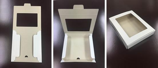 ギフト箱の形状の提案~単価や素材・納品形態に差を出さずにより組み立てやすく~