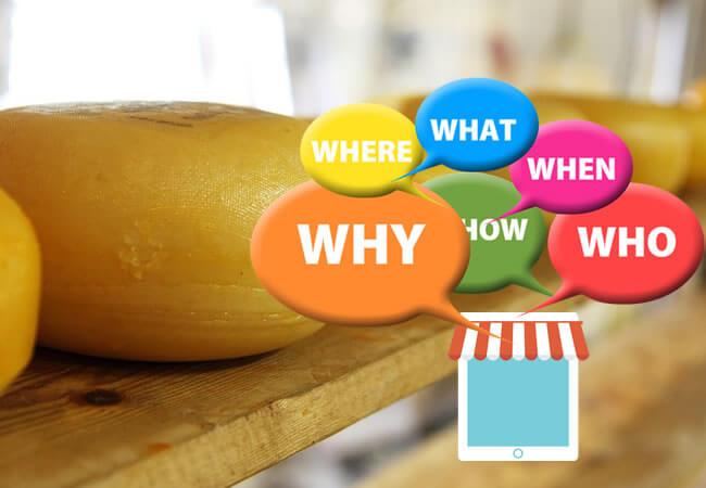 あるチーズ屋さんの営業手法とは??