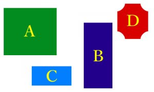 形状ABCD