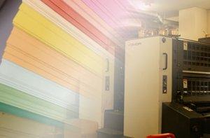 厚紙で紙箱を作成する際の印刷について