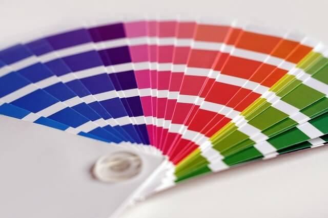 化粧箱の製造における印刷での加工方法