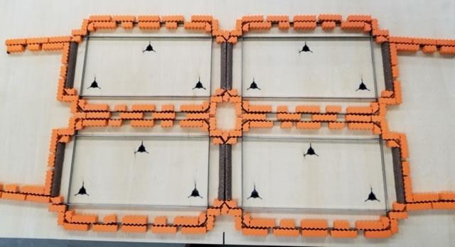 箱をサンプルカッターとトムソンで作成するときの違い②罫線の強さ