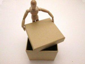 「ダンボール箱」「貼り箱」「組箱」とは