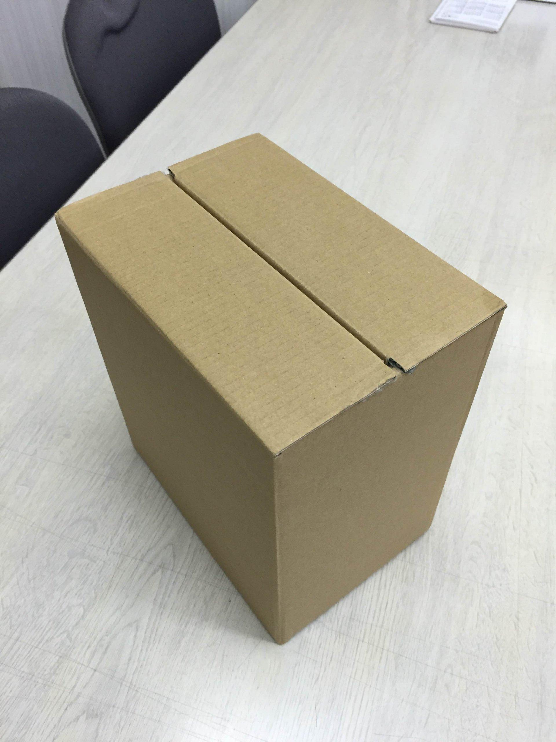 ご注文を頂いた紙箱を販売するために外装段ボールが必要です
